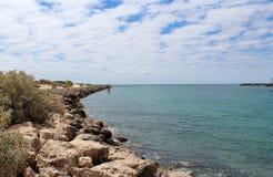 Indian Ocean  Cut at Port Bouvard West Australia Stock Photo