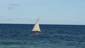 Indian ocean. India ocean ,Zanzibar,dhow Royalty Free Stock Photo