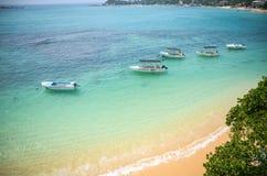 Indian Ocean lagoon. Near Sri Lanka Royalty Free Stock Images