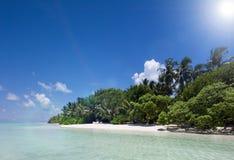 Indian ocean at Maldives Royalty Free Stock Photos