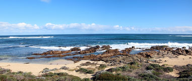 Indian Ocean at Margaret River Royalty Free Stock Photos
