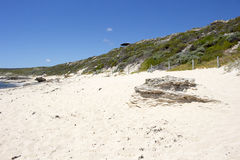 Indian Ocean at Margaret River Western Australia in early summer Royalty Free Stock Photos