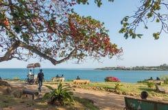 Free Indian Ocean Mombasa Seafront Promenade Royalty Free Stock Images - 111827179