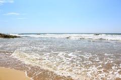 Indian Ocean near Bentota, Sri Lanka Stock Image