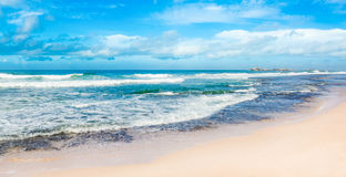 The Indian ocean. Panorama Royalty Free Stock Photos