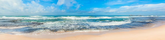 The Indian ocean. Panorama Royalty Free Stock Image