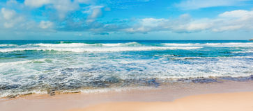 The Indian ocean. Panorama Stock Image