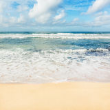 The Indian ocean. Panorama Royalty Free Stock Photo
