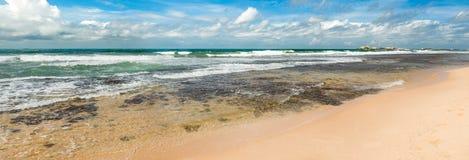 The Indian ocean. Panorama Stock Photography