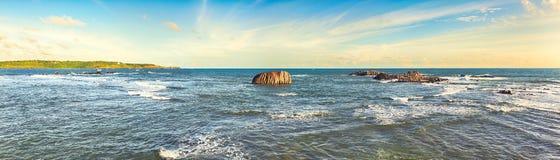 The Indian ocean. Panorama Stock Photos
