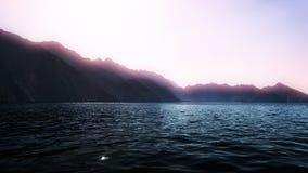 Indian ocean shore, Oman Royalty Free Stock Photo