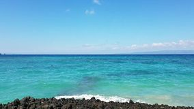 The Indian Ocean in Candidasa, Bali, Indonesia stock video footage