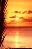 Indian Ocean sunrise Royalty Free Stock Photo
