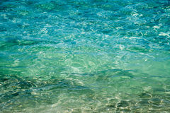Indian Ocean Surface. Full frame background of the turquoise-green Indian Ocean waters in Coogee, Western Australia royalty free stock photo