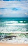 The Indian ocean. Vertical panorama Stock Photo