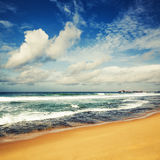 The Indian ocean. Stock Image
