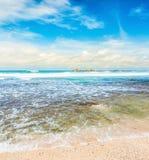 The Indian ocean. Stock Photos