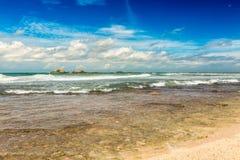 The Indian ocean. Royalty Free Stock Photos