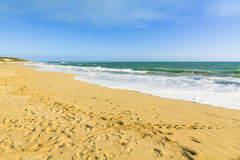 Indian ocean view, Australia. Scenic view of Indian Ocean view at Guilderton, Western Australia Stock Images