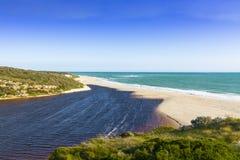 Indian ocean view, Australia. Royalty Free Stock Photo