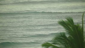 Indian Ocean waves. Telephoto lens. HD1080 - 25p stock footage