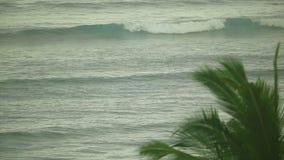 Indian Ocean waves stock footage