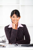 Indian office lady Stock Images