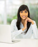 Indian office worker Royalty Free Stock Photo