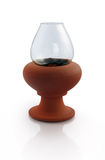 Indian Oil Lamp Stock Photo