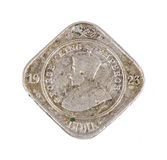 Indian old coin Royalty Free Stock Image
