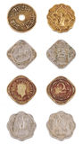 The indian old coins Royalty Free Stock Photography