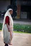 Indian old woman Royalty Free Stock Photo