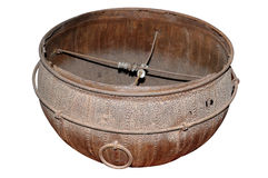 Indian oldest metal big pot Royalty Free Stock Image