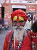 Indian oldman Stock Image