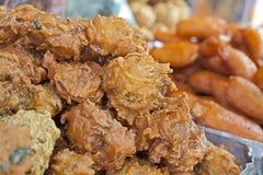 Indian onion baji Stock Photo