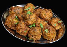 Indian Onion Bhajis Stock Photo