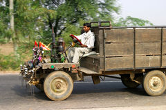 Indian open truck Stock Images