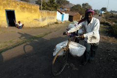 Indian Opencast Coalmines Stock Photography