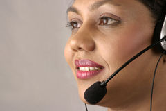 Indian operator Royalty Free Stock Photography