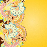 Indian ornament Royalty Free Stock Images