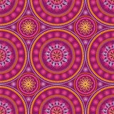 Indian ornament, kaleidoscopic,mandala. Royalty Free Stock Images