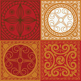 Indian ornament  set Royalty Free Stock Images