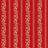 Indian ornament. With vertical stripes Stock Image