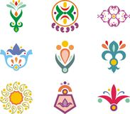 Indian ornamental designs Royalty Free Stock Photo