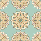 Indian ornaments. Seamless pattern in indian style Royalty Free Stock Photos