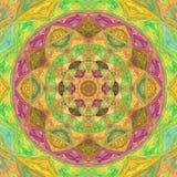 Indian ornate mandala. Doily round lace pattern. Indian ornate mandala. Doily lace pattern Stock Photos