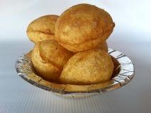 Indian paaniPuri. Paanipuri chat snacks Stock Image