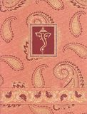 Indian Paisley Motif Ganesha Stock Photos