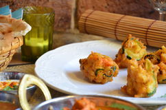 Indian Pakoras Royalty Free Stock Photos
