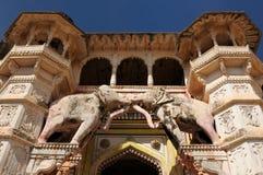Indian palace, Bundi Stock Photos